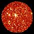 Glitzerfarbe 07 Orange