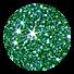 Glitzerfarbe 10 Wintergrün