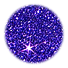 Glitzerfarbe 15 Nachtblau (Lila)